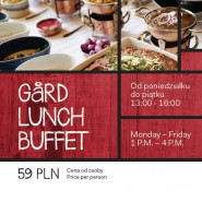 GaRD Lunch Buffet