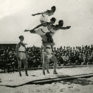 Igrzyska za drutami - wystawa