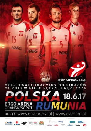 Mecz piłki ręcznej Polska - Rumunia