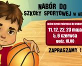 Nabór do Szkoły Sportowej