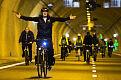 Przejazd rowerowy przez tunel pod Martwą Wisłą