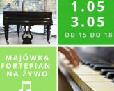 Majówka z fortepianem na żywo
