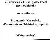 Spotkanie Zrzeszenia Kaszubsko-Pomorskiego