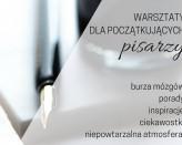 Warsztaty dla początkującego pisarza