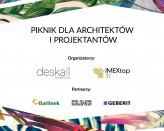 Piknik dla architektów i projektantów z Deska Design i ImexTop32