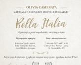 Olivia Camerata - Bella Italia zaprasza na najpiękniejsze chwile z włoską muzyką