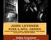 John Leysner - Funk, Soul & Groove - Live Music