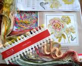 Warsztat haftu krzyżykowego: kwiaty
