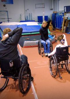 Gdyńskie Poruszenie - Zajęcia sportowe dla niepełnosprawnych ruchowo