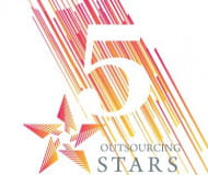 5 Gala Outsourcing Stars
