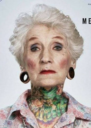 Tatuaż Jak Ty Będziesz Wyglądać Na Starość Mewa Towarzyska