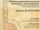 VIII Międzynarodowy Konkurs Muzyki Kameralnej im. Johannesa Brahmsa