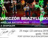 Wieczór Brazylijski Amilcar Batista Cruz