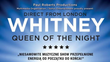 Zaproszenia na koncert Whitney - Queen Of The Night