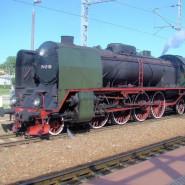 Keja - przejazd pociągiem z parowozem