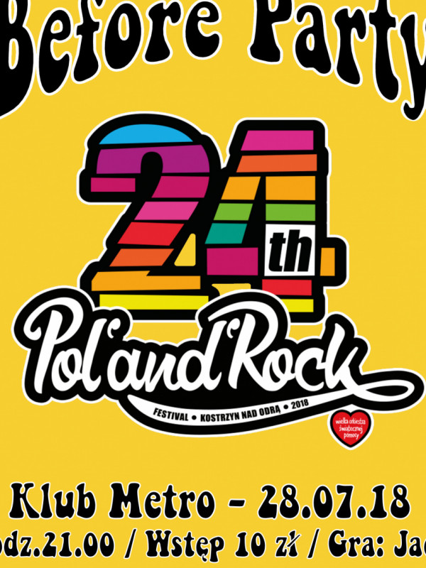 Rockowe Wakacje: 24. Pol'and'Rock - Before Party