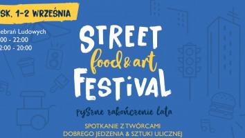 Bony na wybrane danie na Street Food & Art Festival (1-2.09)