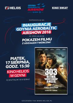Inauguracja Gdynia Aerobaltic 2018. Pokaz filmu 303.Bitwa o Anglię