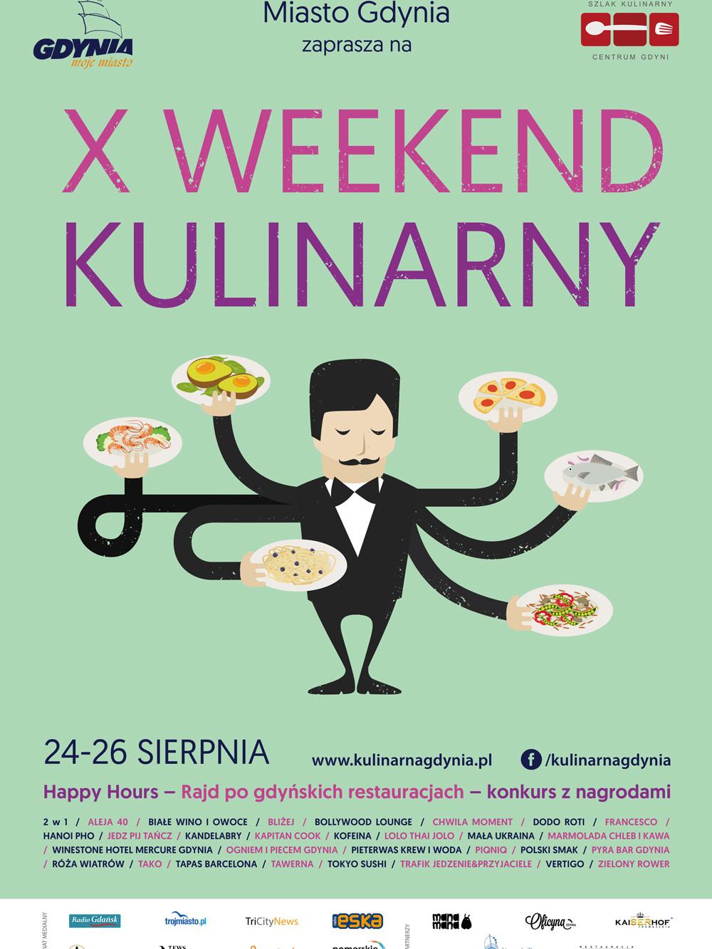 Х Кулинарный Фестиваль в Гдыне. 24-26 августа