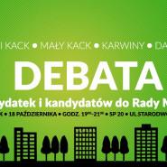 Debata z kandydatami do Rady Miasta Gdyni okręg 5