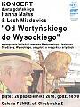 Od Wertyńskiego do Wysockiego