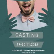 Akademicki Chór UG - Casting