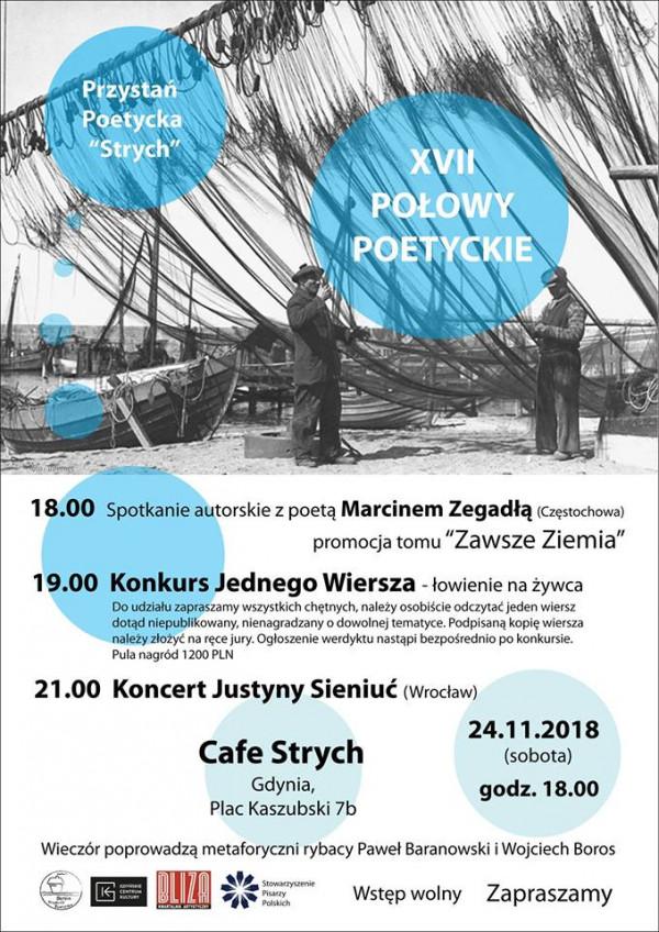 Xvii Połowy Poetyckie Cafe Strych Gdynia Sprawdź