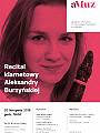 Recital klarnetowy Aleksandry Burzyńskiej