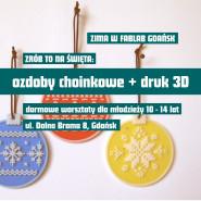 Zrób to sam! Święta - bombki 3D. Warsztaty dla dzieci i młodzieży