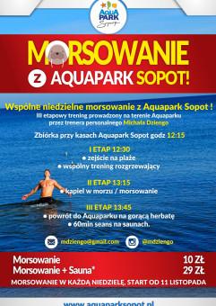 Mikołajkowe Morsowanie w Aquaparku