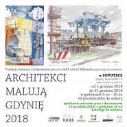 Architekci malują Gdynię 2018 - wystawa