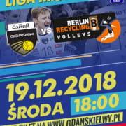 Bilety na mecz TREFL Gdańsk - Berlin Recycling Volleys
