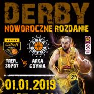Koszykówka: TREFL Sopot - ARKA Gdynia