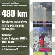 480 km. Wystawa malarstwa Beaty Polak-Peli
