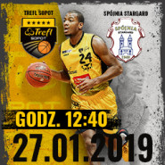 Koszykówka: TREFL Sopot - Spójnia Stargard