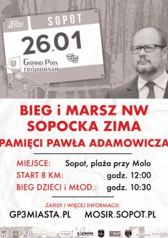 Bieg Pamięci Pawła Adamowicza