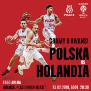 Koszykówka: eliminacje mistrzostw świata: Polska - Holandia
