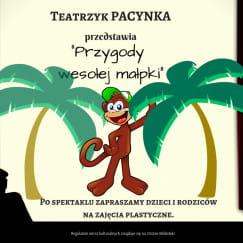 Przygody wesołej małpki - teatrzyk
