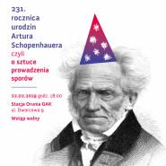 231. rocznica urodzin Artura Schopenhauera