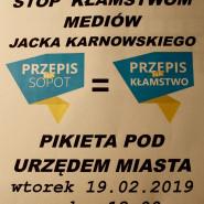 Sopocka pikieta w sprawie wolnych mediów