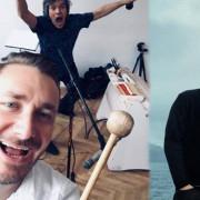 Zaproszenia na Koncert Bałtycki: Afenginn, Szamburski/Górczyński