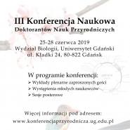 III Konferencja Przyrodnicza