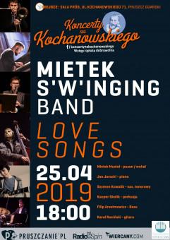 Mietek S'w'inging Band - Love songs