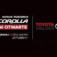 Nowa Corolla - wszystkie wersje nadwozia