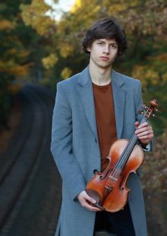 Koncert Adama Suski (skrzypce) i Marty Kur (fortepian)