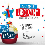 Pierwsze urodziny Kina Helios Gdańsk Forum