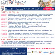 Konferencja IV Wiosenne Spotkania ze Zdrowiem w Wyższej Szkole Zdrowia w Gdańsku