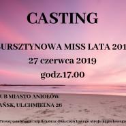 Bursztynowa Miss Lata - casting