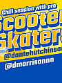 Chill session with Pro Scooter Skaters