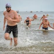 Wyścigi pływackie dookoła molo - finał